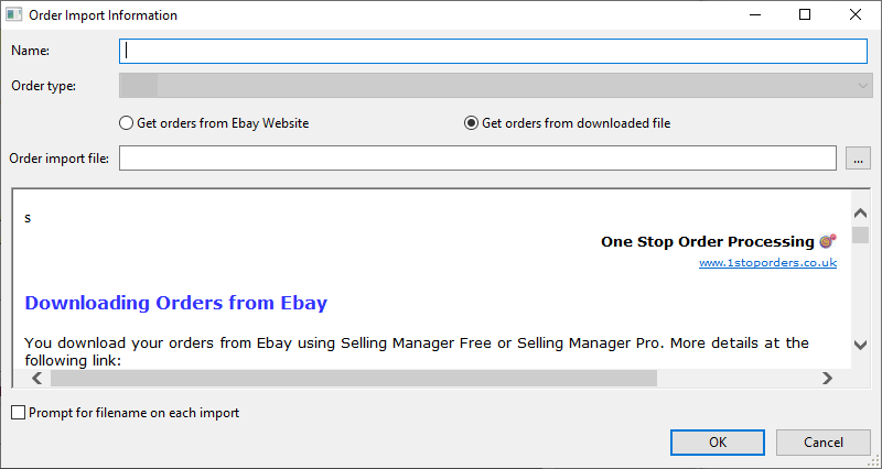 How To Manually Import Orders From Ebay Into Osop Lite